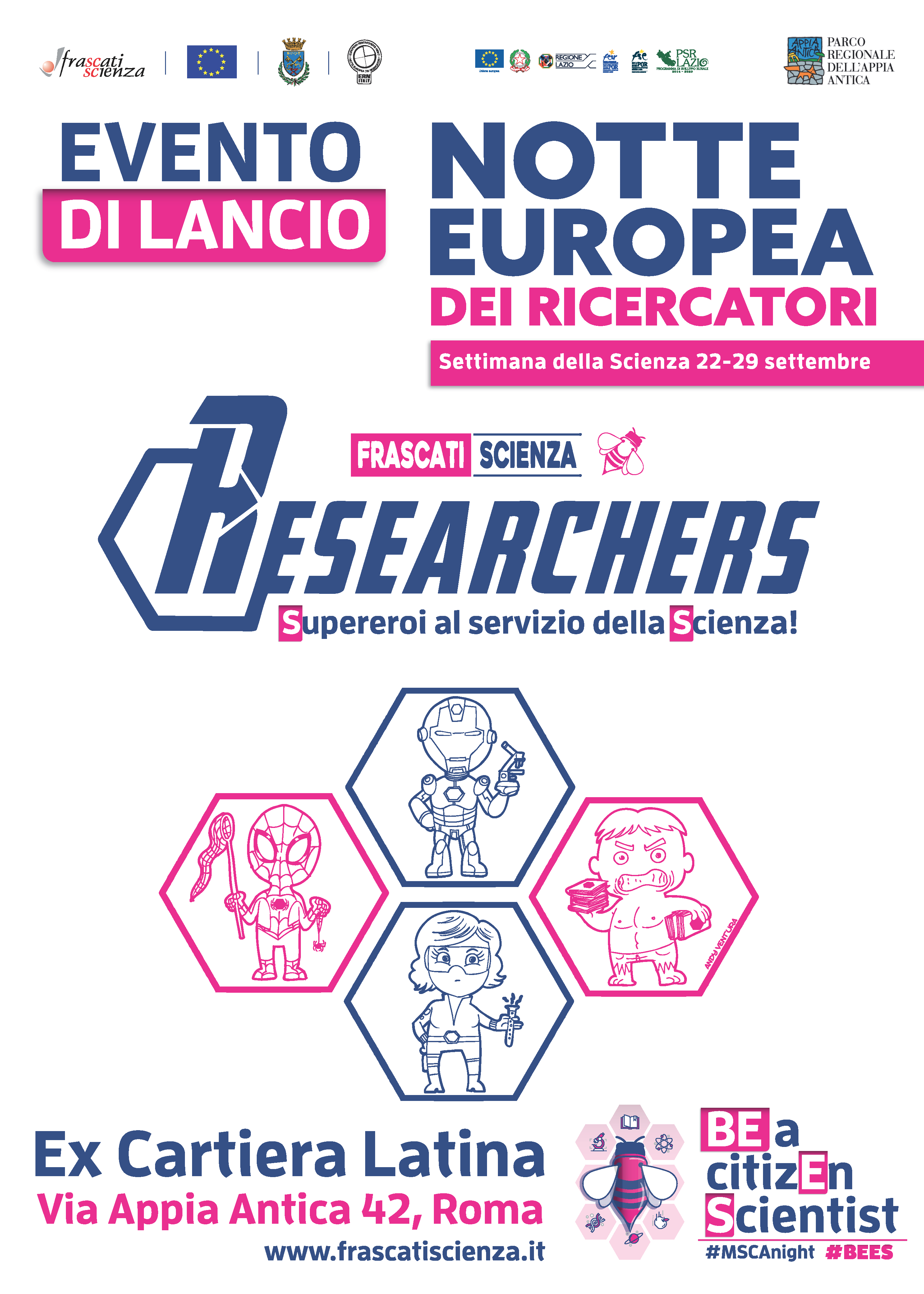 Researchers_Evento_Lancio