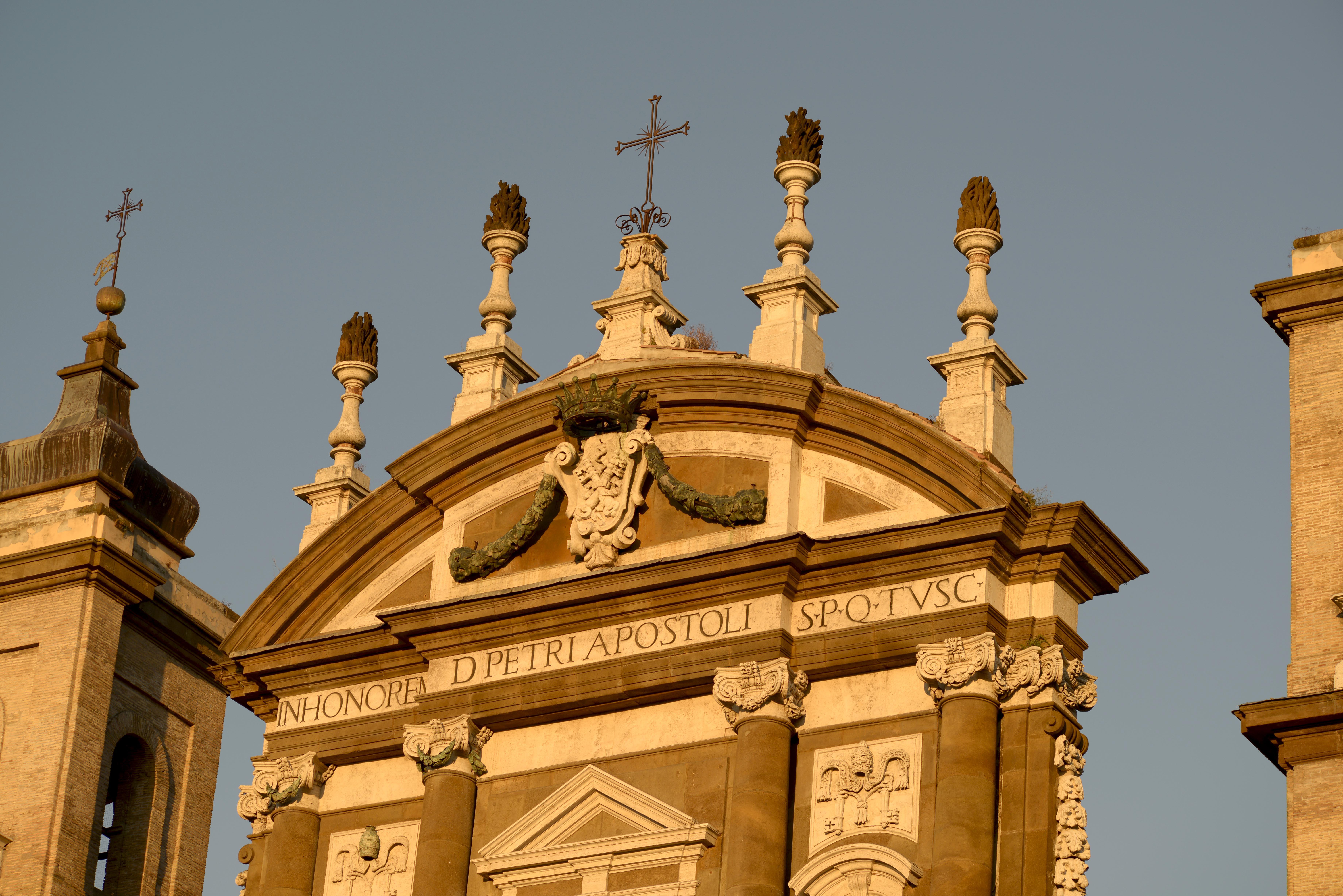Dettaglio della Cattedrale di San Pietro