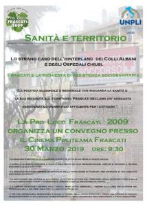 Sabato 30 marzo ore 9:30 presso il Cinema Politeama di Frascati @ Frascati Cinema Politeama
