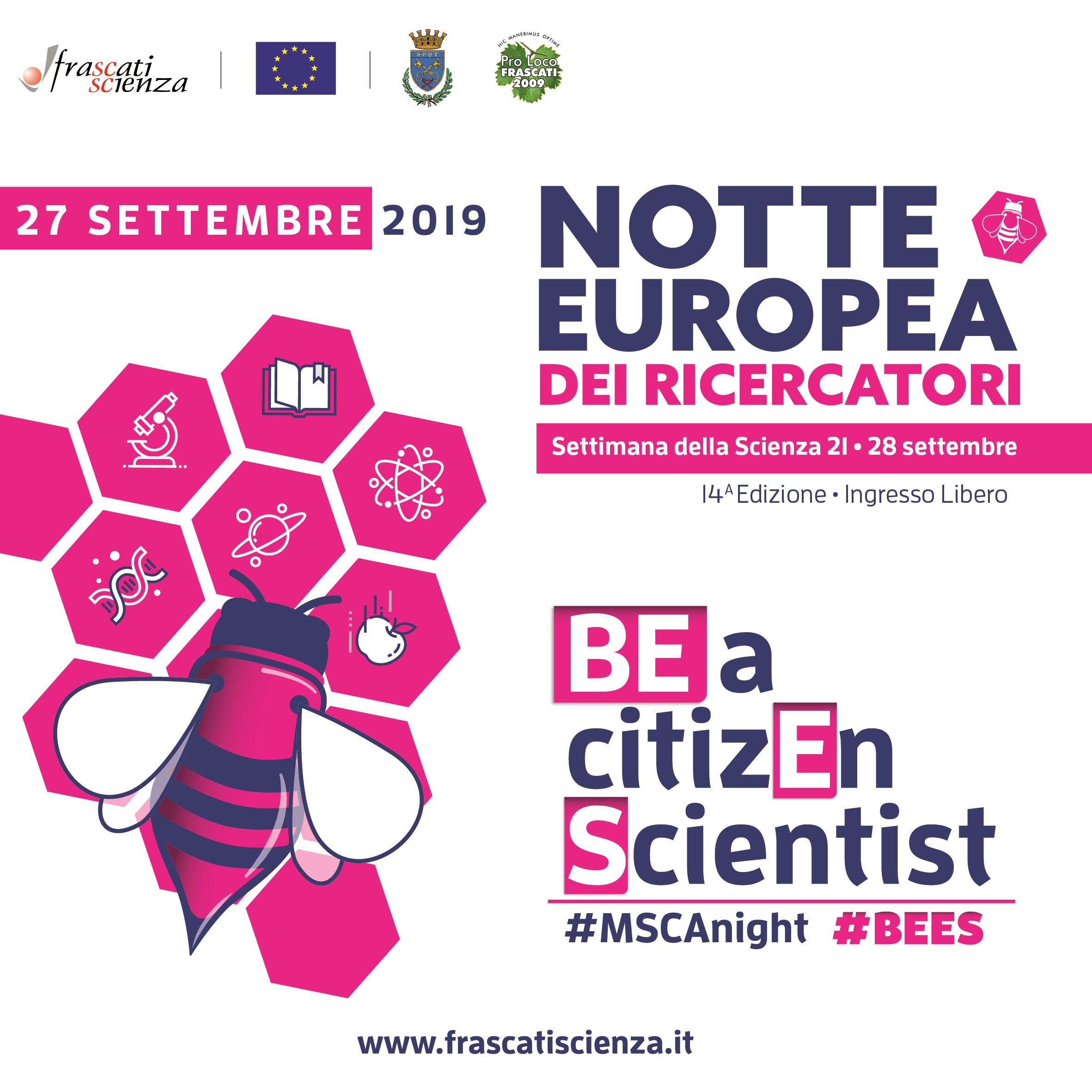 BEES2019 I cittadini diventano scienziati @ FRASCATI