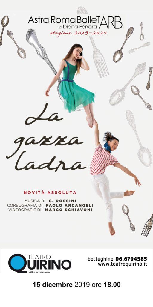 La Gazza Ladra - Teatro Quirino Roma @ Roma Teatro Quirino